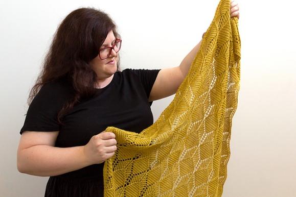 beeswax shawl