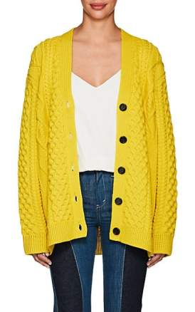 Marc Jacobs' heavily cabled cardigan