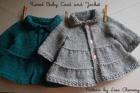 Tiered Baby Jacket