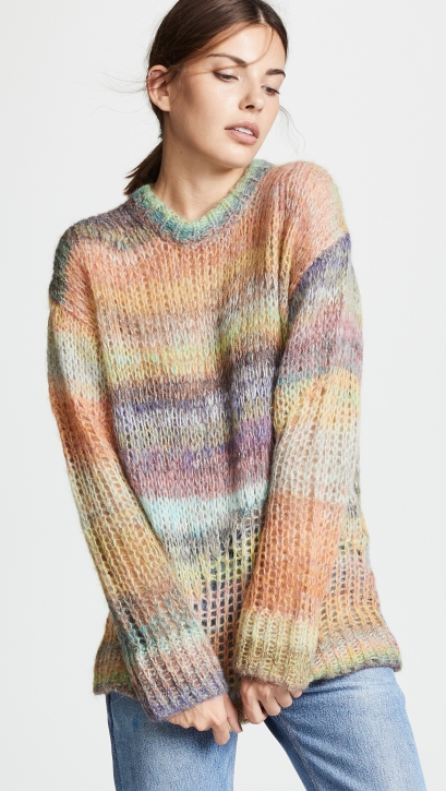 Acne's Striped Sweater for $450