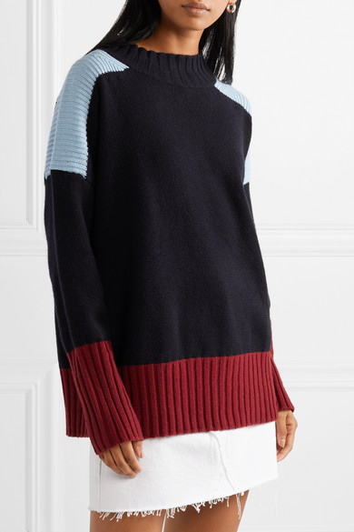 Chinti & Parker's Color Block Sweater