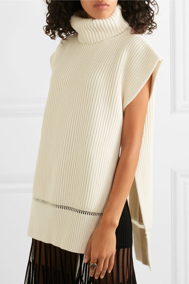 McQueen's Ribbed Sweater