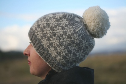 Snawheid Hat by Kate Davies
