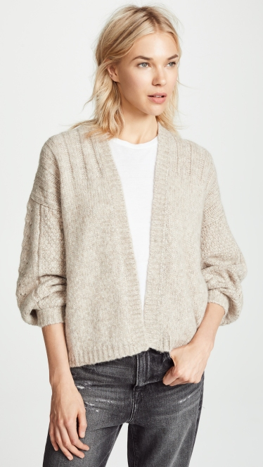 Comfy ease from Velvet's Beverlee cardigan