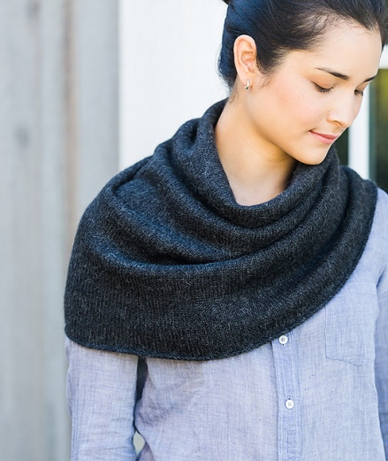 Tapered Cowl from Churchmouse