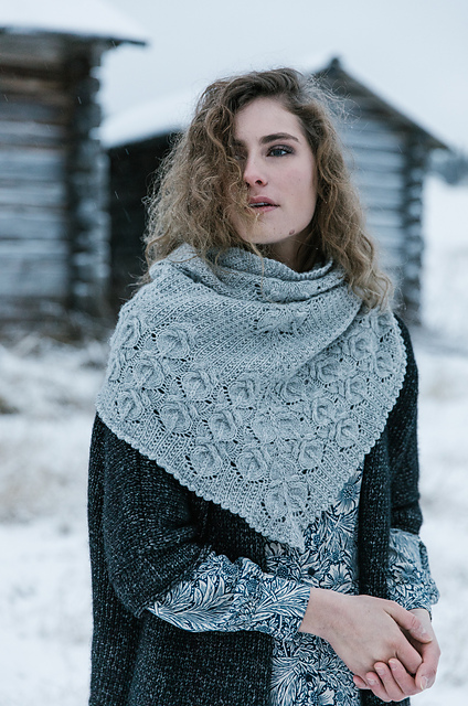 calla shawl