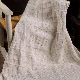 Monogram Blanket 2