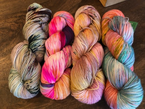 which skein is destined to be another set of socks?