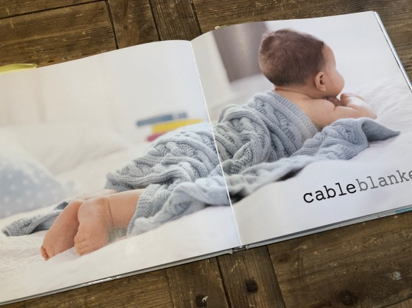 Cable Blanket Simply Baby