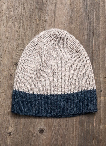 the Icehouse Hat © Blue Sky Fibers