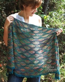 Giverny Shawl